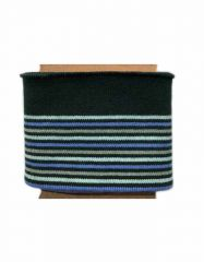 Cuffs Border Multi Stripe | Blues