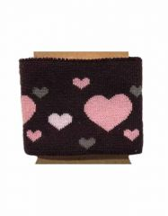 Cuffs Heart Design | Deep Burgundy