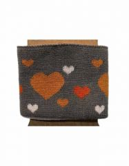 Cuffs Heart Design | Grey