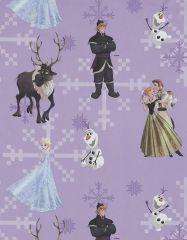 Disney's Frozen Fabric | Purple