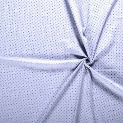 Double Gauze Baby Fabric | Gold Star Light Blue
