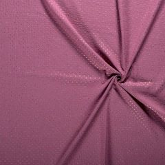 Double Gauze Baby Fabric | Gold Star Rich Pink