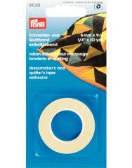 Dressmaker's & Quilters Tape, 6mm x 9m | Prym