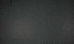 Voile Print Spot   Dark Grey