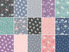 Fairy Nights Fabric | Fat Quarter Pack 15 Design - Offer