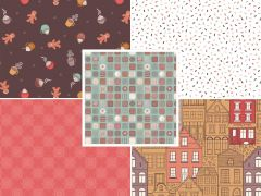 The Old Chocolate Shop | Fat Quarter Pack 1