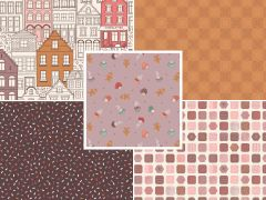 The Old Chocolate Shop | Fat Quarter Pack 3