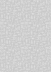 Viking Adventure Fabric | Runes Grey