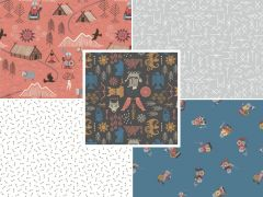 Viking Adventure Fabric | Fat Quarter Pack 1