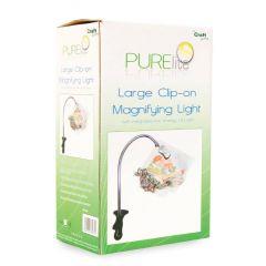 Magnifying Lamp Clip On - Medium | Pure Lite