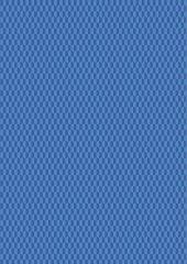 Geometrix Fabric   Half Hex Mid Blue