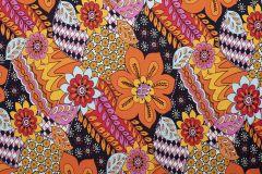 Jersey Cotton Print | Floral Burst