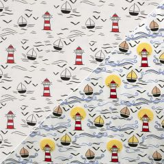 Light reactive Jersey Fabric | Sea Side