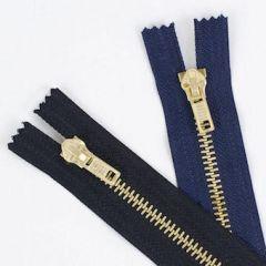 Jeans Zip Brass Teeth (Small)