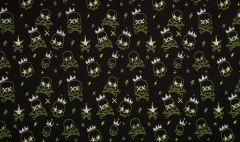 Neon Glow In The Dark Jersey | Skulls Yellow