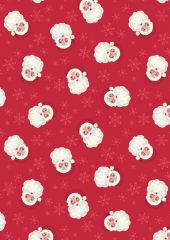 North Pole Christmas | Vintage Santa Festive Red