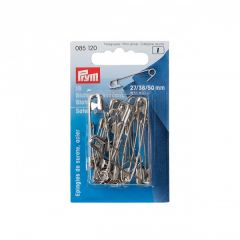 Safety Pins Silver 57mm, 12pcs | Prym