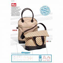 Sewing Pattern & DVD | Bag Bottom | Caroline Shopper