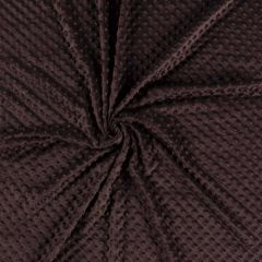 Premium Dimple Fleece | Dark Brown