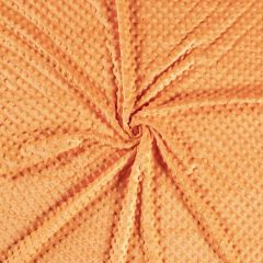 Premium Dimple Fleece | Orange