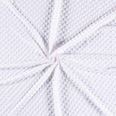 Premium Dimple Fleece | White
