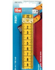 Professional Tape Measure   Metal Tipped 100″   Prym