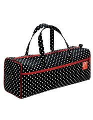 Needlework Knitting Bag, Black Polka   Prym