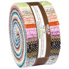 Robert Kaufman Fabric Roll Up | Squares Collection