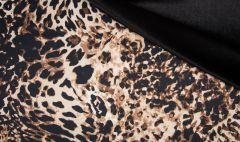 Scuba Fabric Velour Animal Print