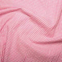 Cotton Seersucker Fabric | Cerise