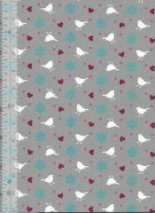 Songbird Fabric | Blue
