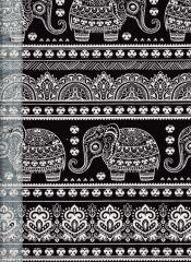 Sri Lankan Baby Fabric | Black