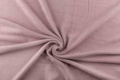 Anti Pil Fleece Fabric - Stretch | Light Pink