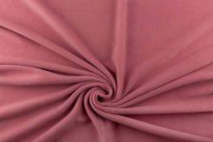 Anti Pil Fleece Fabric - Stretch   Dark Pink