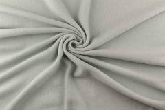 Anti Pil Fleece Fabric - Stretch   Light Mint