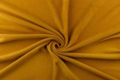Anti Pil Fleece Fabric - Stretch   Ochre