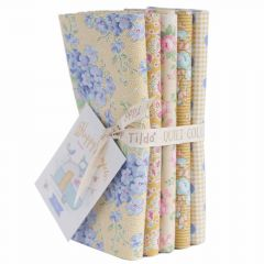 Happy Campers Tilda Fabric | Fat Quarter Bundle Honey