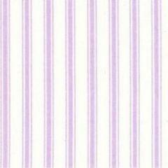 Ticking Stripe Fabric | Lilac