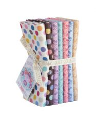 Plum Garden Fat Quarter Bundle | Calm Extras