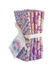 Plum Garden Tilda Fabric | Fat Quarter Bundle Plum
