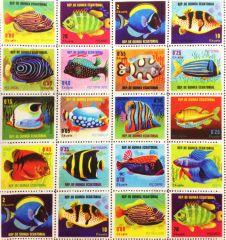 Tropical Stamp - Digital Print Fabric