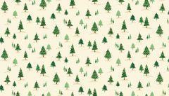 Twelve Days of Christmas Fabric   Mini Trees