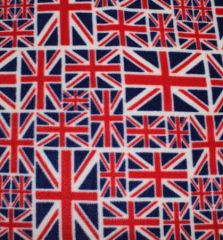 Printed Anti Pil Polar Fleece | Union Flag Classic