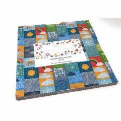 Whatever The Weather Fabric | Scrumptious Square