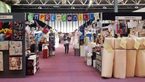 Festival Of Quilts Stand 2015 Post