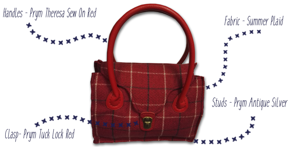 Summer Plaid Bag Prym