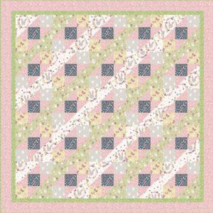 Bunny Garden Quilt 1