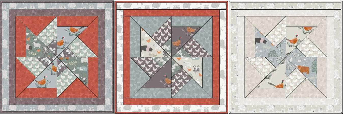 Country Life Quilting Project Montage