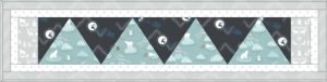 Northern Lights Table Runner One